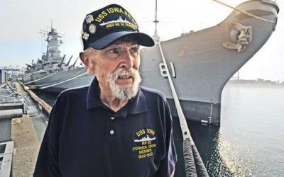 Sailor reunites with old ship