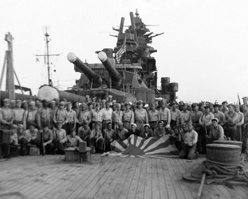 Secured the Japanese Battleship Nagato