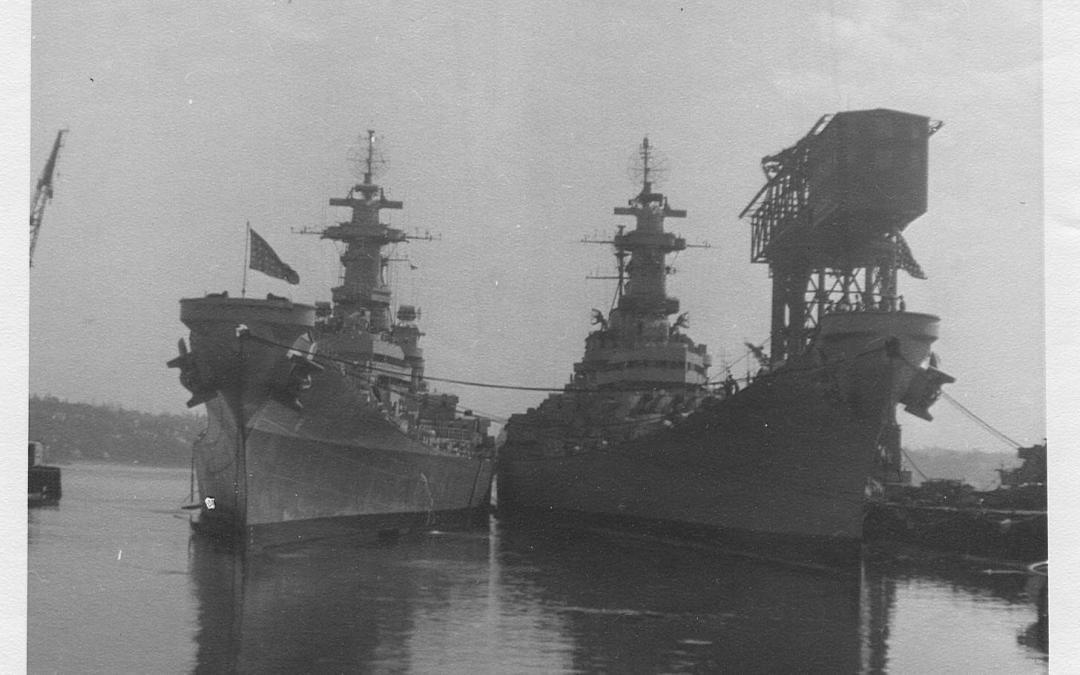 Overhauled in Puget Sound Navy Yard