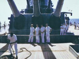 Those Who Served on Battleship IOWA | Los Angeles Museum