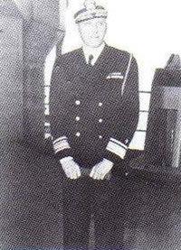 Captain Frederick I. Entwistle USN Takes Over as Commanding Officer