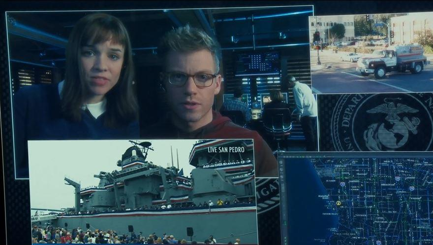 CBS Studios Films on the Ship