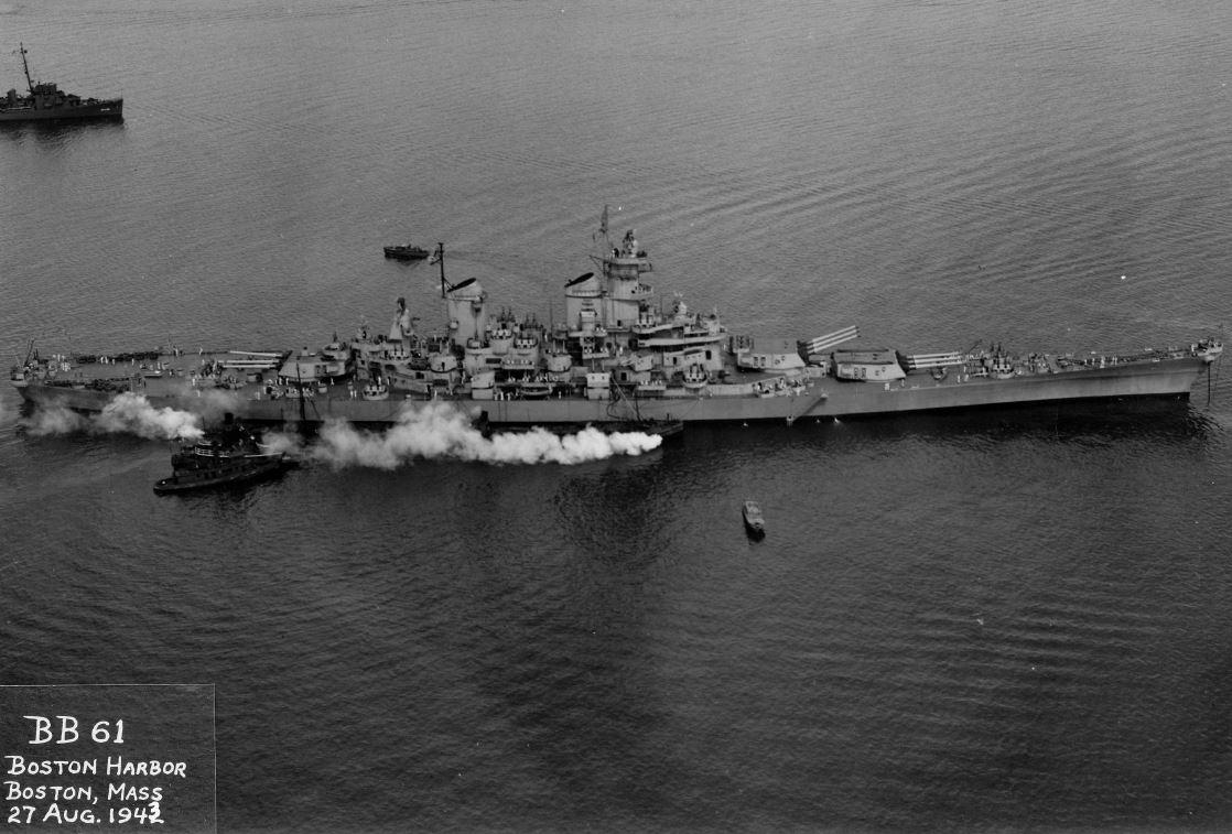 At the End of World War II | Battleship IOWA Museum Los Angeles