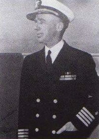 Captain Thomas M. Stokes USN Becomes Commanding Officer
