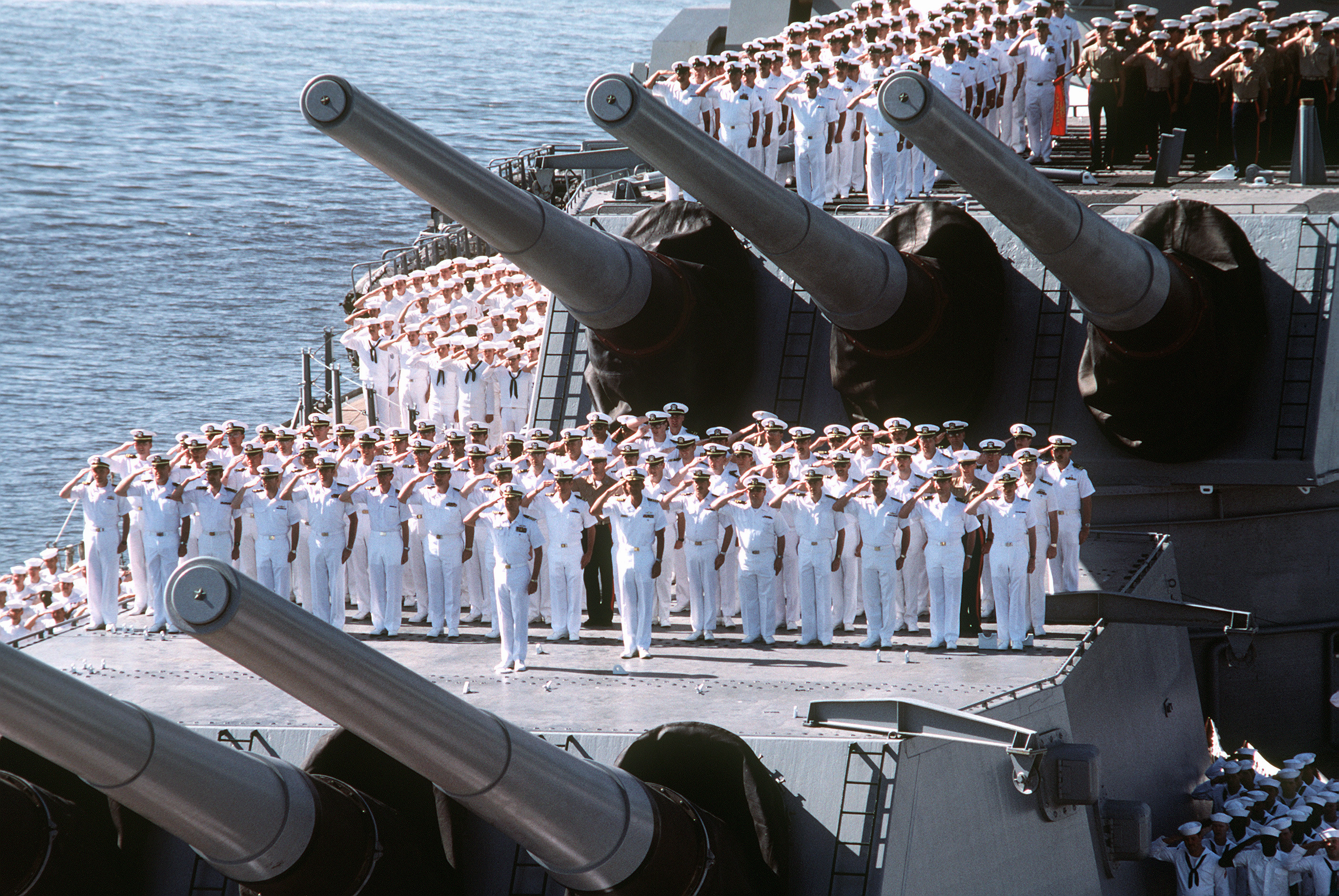 See the City at Sea aboard Battleship IOWA Museum Los Angeles
