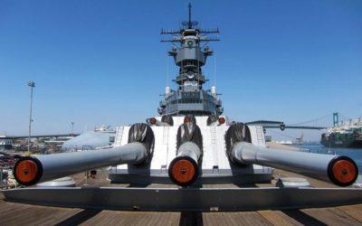 USS Iowa San Pedro Fun Educational Day Trip