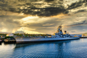 Battleship IOWA bow Richmond