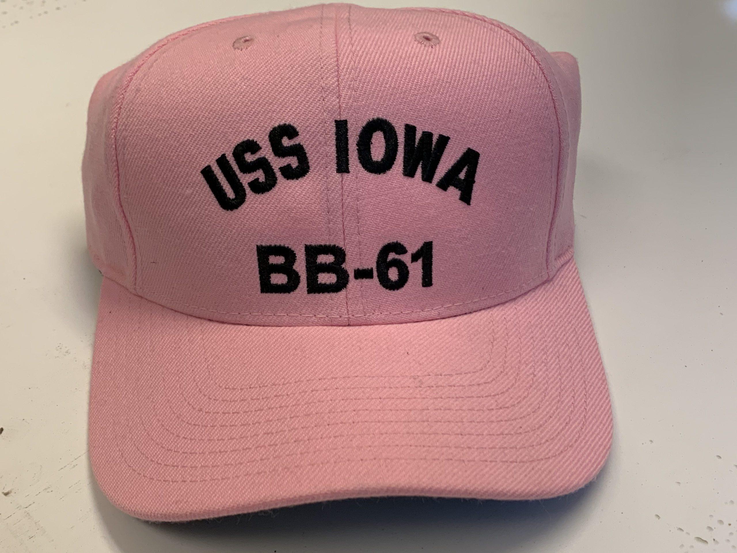 Baseball Cap - IOWA Logo (Pink)