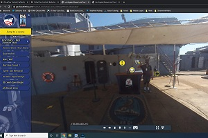 Battleship USS IOWA Museum virtual tour