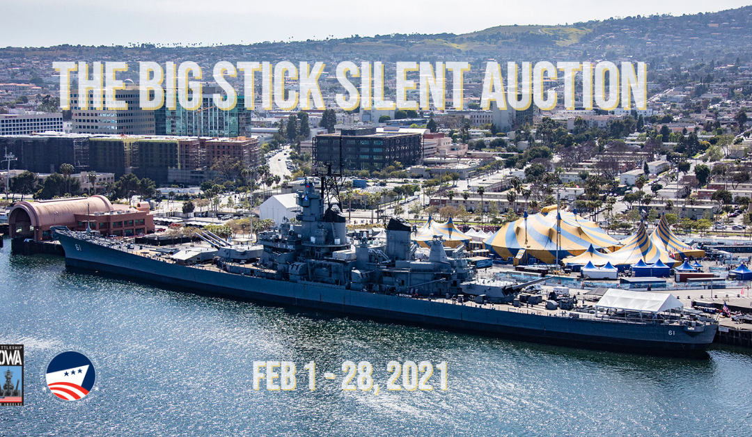 Battleship IOWA's Silent Auction Starts Tomorrow