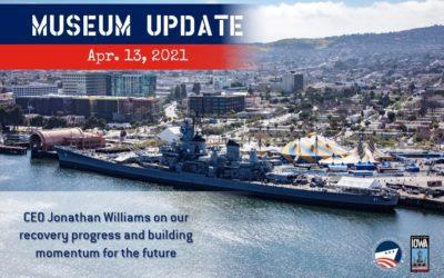 CEO Update April 13, 2021