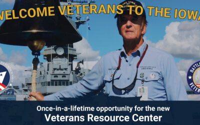Launching Veterans Resource Center Welcome Sign Campaign