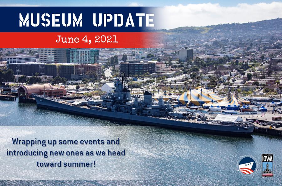 Museum Update June 4, 2021