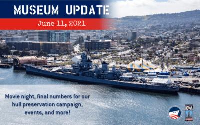 Museum Update June 11, 2021