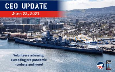 CEO Update June 22, 2021