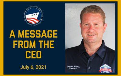 CEO Update July 6, 2021