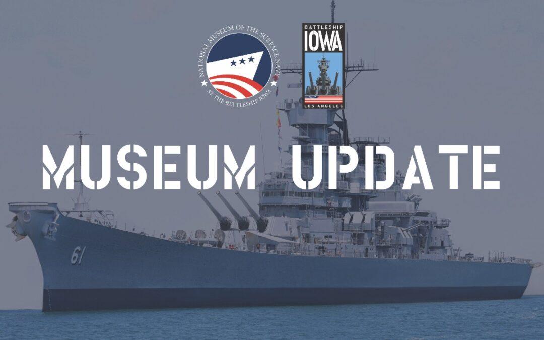 Museum Update: August 13, 2021