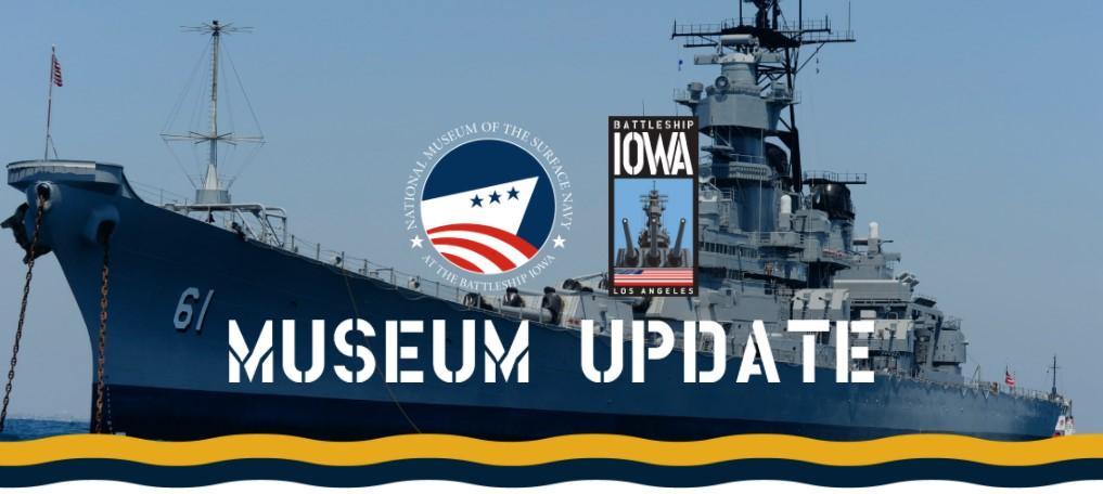 Museum Update September 10, 2021